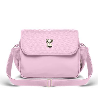 Imagem 3 do produto Bolsa maternidade para bebe Mônaco + Frasqueira Térmica Nice + Kit Acessórios Golden Koala Rosa- Classic for Baby Bags