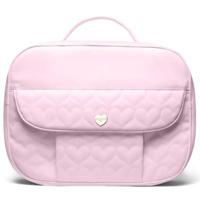 Imagem 1 do produto Mala maternidade para bebe Corações Matelassê Rosa - Classic for Baby Bags - MPCB9024 Mala maternidade Corações Matelassê Rosa