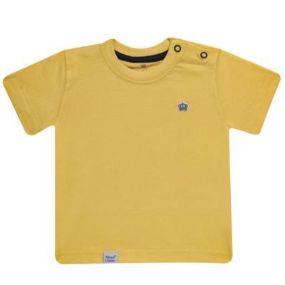 Imagem 1 do produto Camiseta em malha Amarela - Mini & Classic - 6003672 CAMISETA MC MALHA AMARELA-3