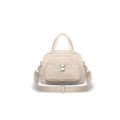Imagem 4 do produto Kit Mala Maternidade para bebe + Bolsa Veneza + Frasqueira Térmica Milão Golden Koala Caqui - Classic for Baby Bags