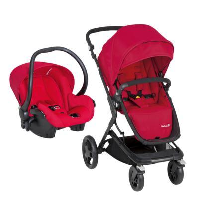 Imagem 1 do produto Travel System Kokoon: Carrinho Kokoon e Bebê Conforto One Safe XM Full Red  - Safety 1st