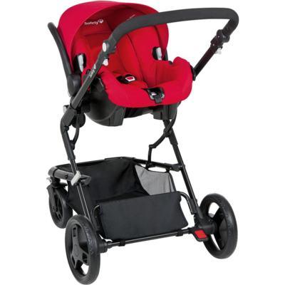 Imagem 2 do produto Travel System Kokoon: Carrinho Kokoon e Bebê Conforto One Safe XM Full Red  - Safety 1st