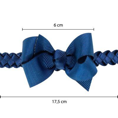 Imagem 3 do produto Faixa de cabelo trançada Laço Marinho - Roana - 23840020008 FAIXA TRANÇADA MARINHO
