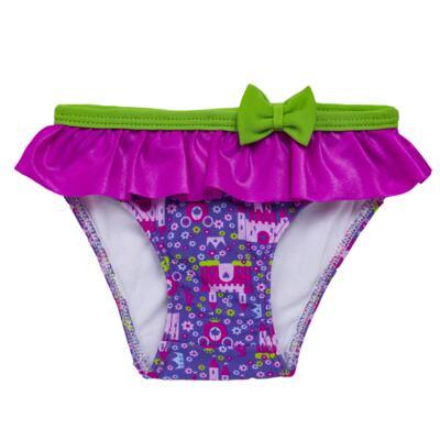 Imagem 4 do produto Conjunto de Banho para bebe Castellana: Roupão + Biquíni - Cara de Criança - KIT 2 2581: BB2581+ROB2581 BIQUINI E ROUPÃO BB CASTELO-3