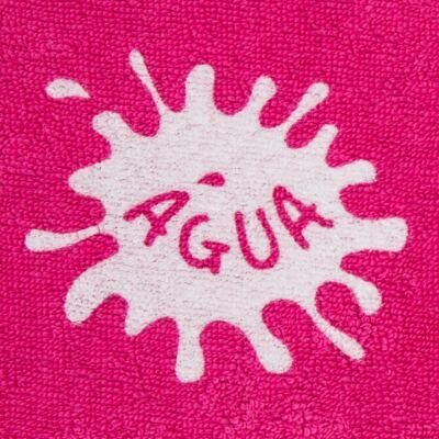 Imagem 2 do produto Roupão atoalhado com capuz Pink - Cara de Criança - RO2166 ROUPAO PINK RO ROUPAO ATOALHADO-1