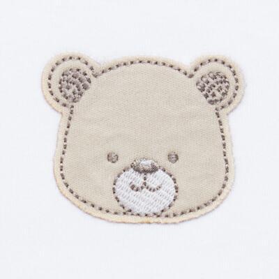 Imagem 5 do produto Pack: 02 Bodies longos para bebe em algodão egípcio c/ jato de cerâmica Nature Little Friends - Mini & Classic - 1023650 PACK 2 BODIES ML SUEDINE NATURE -P