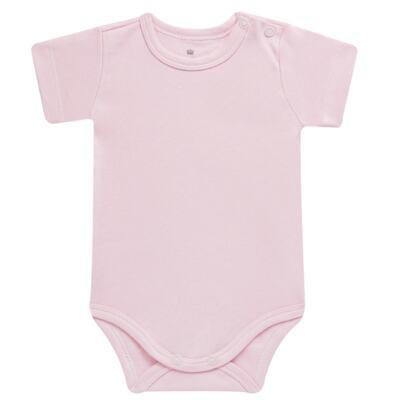 Imagem 2 do produto Pack: 02 Bodies curtos para bebe em algodão egípcio c/ jato de cerâmica Princess Bear - Mini & Classic - 1024655 PACK 2 BODIES MC SUEDINE URSA-M