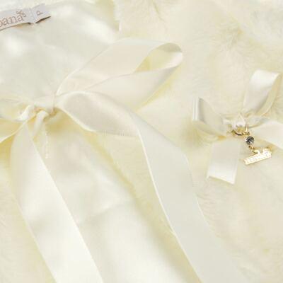 Imagem 2 do produto Casaco de pele para bebe Marfim - Roana - 06032006031 Casaco de Pele Marfim-G