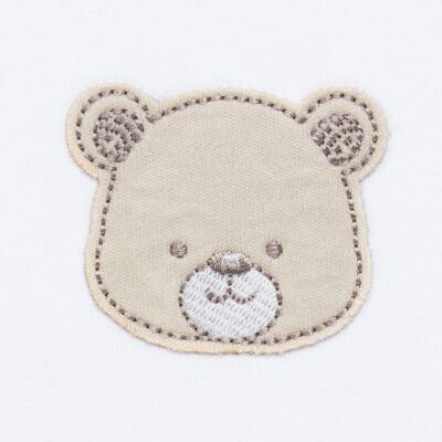 Imagem 5 do produto Pack: 02 Bodies longos para bebe em algodão egípcio c/ jato de cerâmica Nature Little Friends - Mini & Classic - 1023650 PACK 2 BODIES ML SUEDINE NATURE -RN