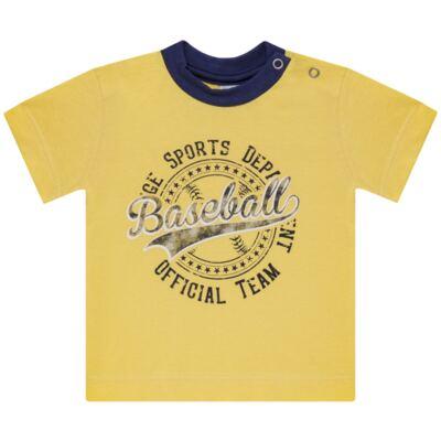 Imagem 2 do produto Camiseta com Shorts em tactel Baseball - Vicky Lipe - 9451367 CAMISETA MC C/ SHORTS TACTEL SPORT 2-3