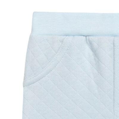 Imagem 2 do produto Calça para bebe em viscomfort matelassê Bleu - Petit - 41144345 CALÇA AVULSA MATELASSE OVELHA MASC-G