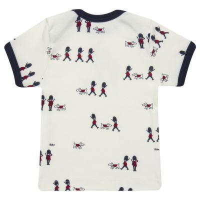Imagem 4 do produto Camiseta com Cobre Fralda em algodão egípcio Royal Guard - Bibe - 39G80-G93 CJ CUR M CM+TP BY BIBE-M