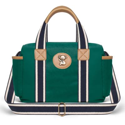 Imagem 3 do produto Bolsa Albany + Frasqueira Térmica Gold Coast em sarja Adventure Verde Oliva - Classic for Baby Bags