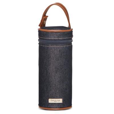 Imagem 5 do produto Bolsa Passeio para bebe + Bolsa Melbourne + Frasqueira Térmica Brisbane + Porta Mamadeira Adventure Jeans - Classic for Baby Bags