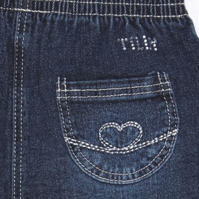 Imagem 3 do produto Calça jeans para bebe Little Heart - Tilly Baby - TB166003 CALCA JEANS FEM -M