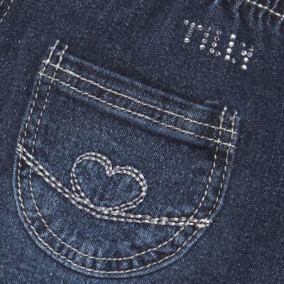 Imagem 3 do produto Calça jeans para bebe Little Heart - Tilly Baby - TB166003 CALCA JEANS FEM -1