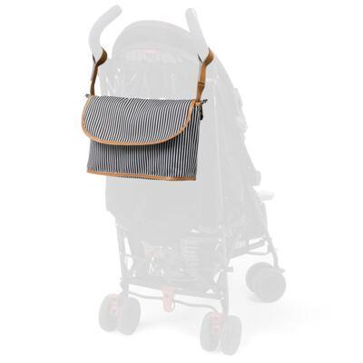 Imagem 6 do produto Mala maternidade Vintage + Bolsa Everyday + Frasqueira Organizadora Manhattan Preta - Masterbag