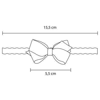 Imagem 3 do produto Faixa de cabelo trançada Laço Marinho - Roana
