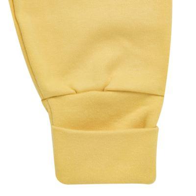 Imagem 5 do produto Pack 2 mijões com pé reversível para bebe em algodão egípcio c/ jato de cerâmica Daisy - Mini & Classic - 1025657 PACK 2 MIJOES SUEDINE FLORAL AMARELO-P