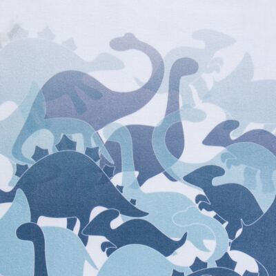 Imagem 3 do produto Pijama regata em suedine Dinossauros - Dedeka - DDK17210/L08 Pijama Ribana Marinho-1