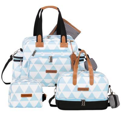 Imagem 1 do produto Bolsa Everyday  + Frasqueira térmica Vicky + Necessaire Manhattan Azul - Masterbag
