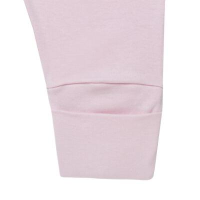 Imagem 2 do produto Calça (mijão) para bebe em suedine Rosa - Mini Sailor - 83024264 MIJAO PE REVERS AVULSO SUEDINE ROSA BEBE-NB
