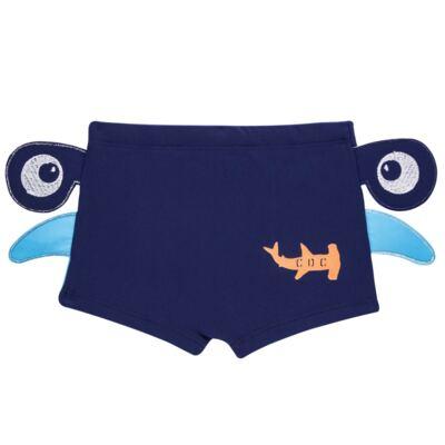 Imagem 4 do produto Conjunto de Banho Tubarão Martelo: Camiseta + Sunga - Cara de Criança - KIT 1 2910: SB2910 + CCA2910 SUNGA BOXER E CAMISETA TUBARAO MARTELO-3