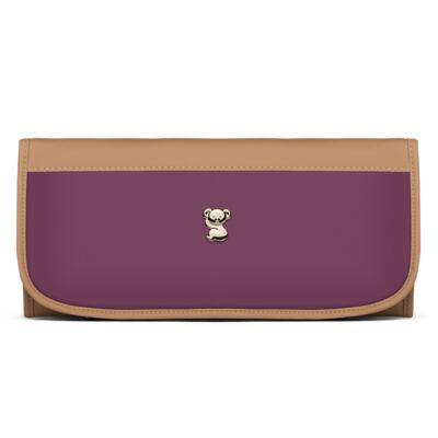 Imagem 3 do produto Mala Maternidade + Trocador Portátil Due Colore Uva - Classic for Baby Bags