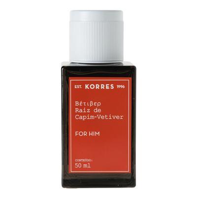 Imagem 6 do produto Raíz Capim-Vetiver Korres - Perfume Masculino - Eau de Cologne - 50ml
