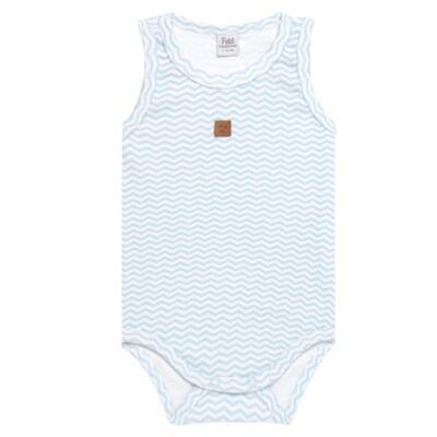 Imagem 1 do produto Body regata para bebe em suedine Ovelhinha Azul - Petit - 01194345 BODY REGATA AVULSO SUEDINE OVELHA MASC-GG