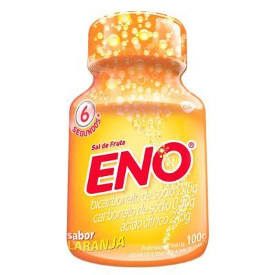 Imagem 3 do produto Sal de Frutas Eno - frasco com 100g de pó efervescente de uso oral, laranja -