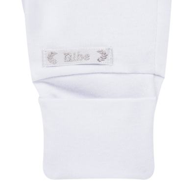 Imagem 2 do produto Calça (mijão) para bebe em algodão egípcio Branca - Bibe - 01B01-01 CL PEQ BVM BY BIBE-P