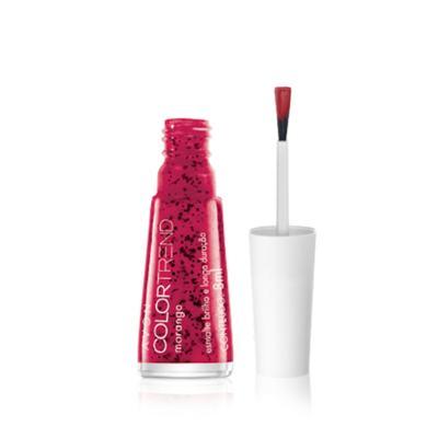 Imagem 2 do produto Esmalte Brilho e Longa Duração Efeito Pontilhado Color Trend - Esmalte Brilho e Longa Duração Efeito Pontilhado Color Trend -  Morango