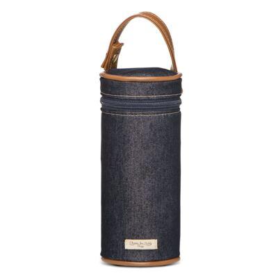 Imagem 5 do produto Bolsa Passeio para bebe + Bolsa Albany +  Frasqueira Térmica Gold Coast + Porta Mamadeira + Trocador Portátil Adventure Jeans - Classic for Baby Bags