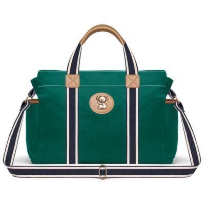 Imagem 2 do produto Bolsa Albany + Frasqueira Térmica Gold Coast + Necessaire Farmacinha em sarja Adventure Verde Oiliva - Classic for Baby Bags
