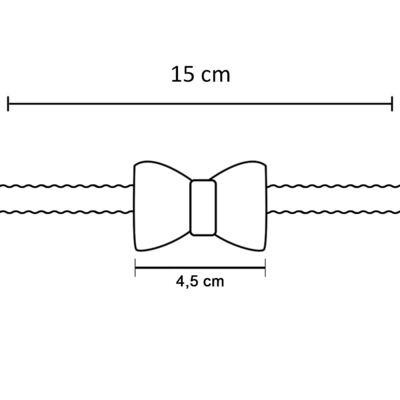 Imagem 3 do produto Faixa de cabelo trançada Laço Pérolas Marfim - Roana - 642-K Faixa de Cabelo Trançada Laço pérolas Marfim