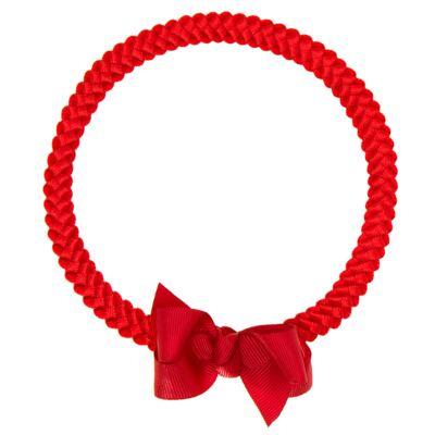 Imagem 1 do produto Faixa de cabelo trançada Laço Vermelha - Roana - 23840020007 FAIXA TRANÇADA ESPECIAL VERMELHO