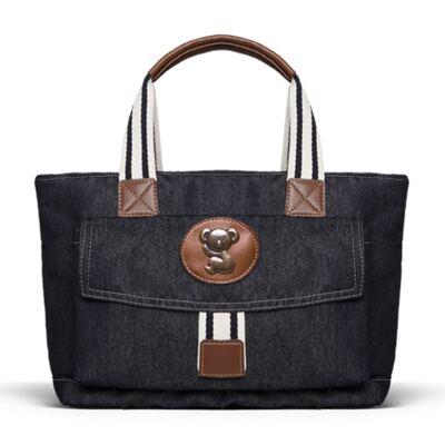 Imagem 4 do produto Bolsa Passeio para bebe + Bolsa Melbourne + Frasqueira Térmica Brisbane + Trocador Portátil Adventure Jeans - Classic for Baby Bags