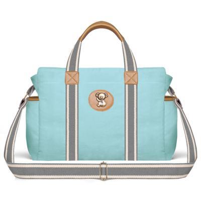 Imagem 2 do produto Bolsa Maternidade para bebe Albany + Frasqueira Térmica Gold Coast + Trocador Portátil em sarja Adventure Azul - Classic for Baby Bags