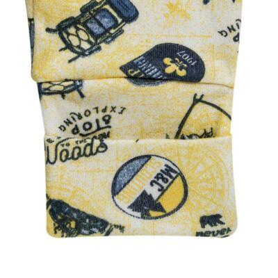 Imagem 4 do produto Pack 2 mijões com pé reversível para bebe em algodão egípcio c/ jato de cerâmica Camp Scouting - Mini & Classic - 10254161 PACK 2 MIJOES PE REVERS. SUEDINE CAMPING-P