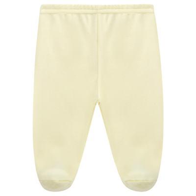 Imagem 1 do produto Calça (mijão) para bebe em suedine Amarela - Tilly Baby - TB13104.07 CULOTE DE SUEDINE AMARELO-P