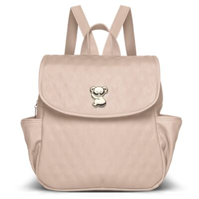 Imagem 2 do produto Mochila Maternidade + Bolsa térmica Nice + Bolsa térmica Firenze Golden Koala Caqui - Classic for Baby Bags