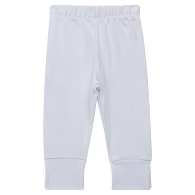 Imagem 1 do produto Calça (mijão) para bebe em cotton touch Branca - Mini Sailor - 83024260 MIJAO PE REVERS AVULSO SUEDINE BRANCO-NB