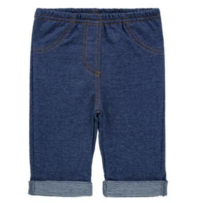 Imagem 1 do produto Calça para bebe em moletinho Azul Jeans - Tilly Baby - TB168010 CALÇA MOLETINHO MASCULINA-P
