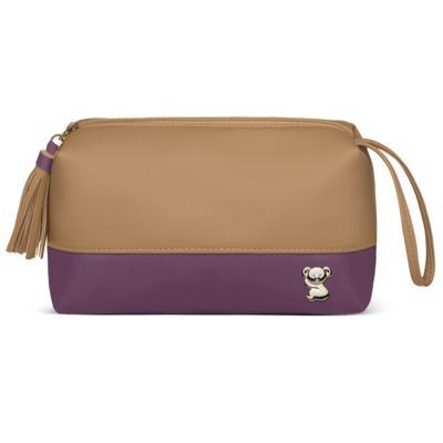 Imagem 5 do produto Mala Maternidade para bebe + Bolsa Genebra + Frasqueira Zurique  + Necessaire + Trocador Due Colore Uva