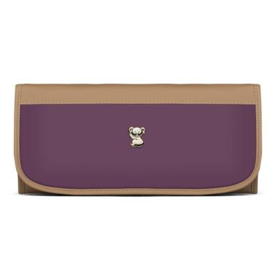 Imagem 6 do produto Mala Maternidade para bebe + Bolsa Genebra + Frasqueira Zurique  + Necessaire + Trocador Due Colore Uva