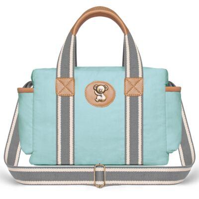 Imagem 3 do produto Bolsa Maternidade para bebe Albany + Frasqueira Térmica Gold Coast em sarja Adventure Azul - Classic for Baby Bags