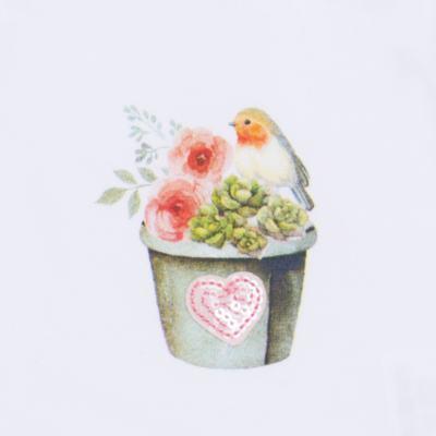 Imagem 4 do produto Regata c/ Cobre fralda para bebe em cotton Love Cactus - Petit - 17024300 CJ REGATA NAD. CALCINHA COTTON/VISC LOVE CACTUS-P