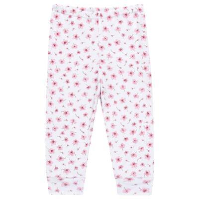 Imagem 4 do produto Pijama curto em malha Flowers - Dedeka - DDK17074/E132 Pijama Ribana Floral -M