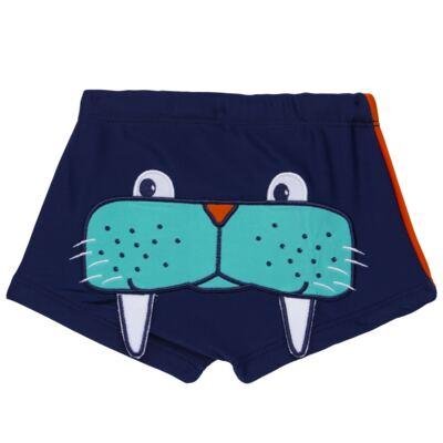 Imagem 4 do produto Conjunto de Banho Morsa: Camiseta + Sunga - Cara de Criança - KIT 2 2532: SB2532+CCA2532 SUNGA E CAMISETA MORSA-6
